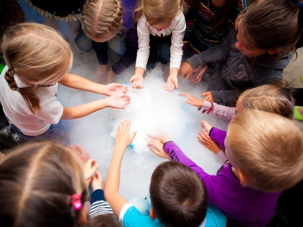Как сделать научное шоу для детей своими руками